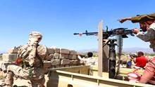 المقاومة الجنوبية تتصدى لهجوم حوثي غرب الضالع