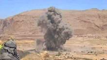 طيران التحالف يقصف بالخطأ قوة تابعة للشرعية بمأرب