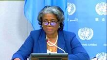 المندوبة الأمريكية لدى الأمم المتحدة ليندا توماس غرينفيلد
