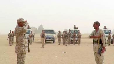 قوة عسكرية من صافر تصل حقول النفط بشبوة