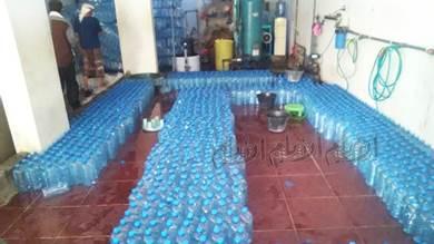تزايد محطات تعبئة المياه المعدنية المخالفة للمعايير بأبين