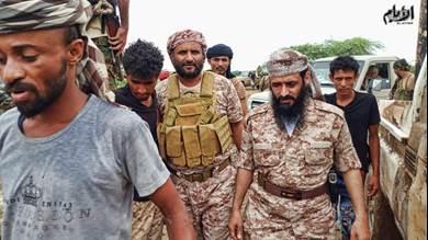 قادة ألوية الدعم والاسناد في متارس شقرة صباح أول ايام العيد