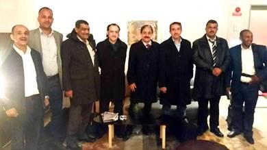 وفد الحوثيين المشارك بمفاوضات السلام