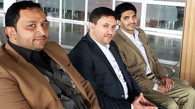 ممثلو الجماعة الحوثية في لجنة الأسرى