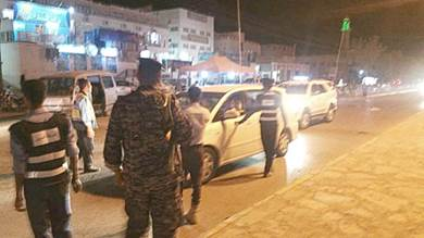 حملة أمنية لمنع حمل السلاح في وادي حضرموت