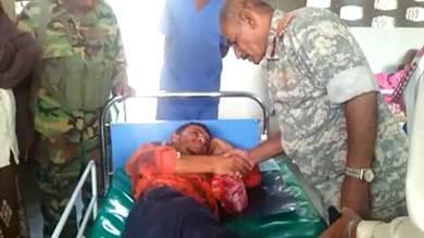 محافظ الضالع يوجه بالاهتمام بالجرحى المقاتلين