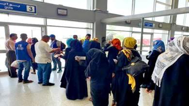 عودة أكثر من 2000 مهاجر إلى بلادهم