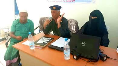جمال الميسري، مدير السجل المدني بأبين