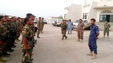 كتيبة المنطقة الحرة تدشن المرحلة الثانية للعام التدريبي