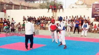 وحدة عدن يحرز بطولة تايكواندو 14 أكتوبر