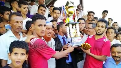 الحبيلين بطلاً لكأس بطولة 14 أكتوبر والشهيد أبو اليمامة