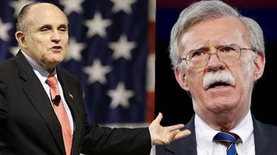 جون بولتون حذر البيت الأبيض من محامي ترامب و وصفه بـ«القنبلة الموقوتة» !