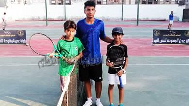 نورس وشرف يضربان موعدا ناريا في نهائي بطولة تنس عدن المفتوحة