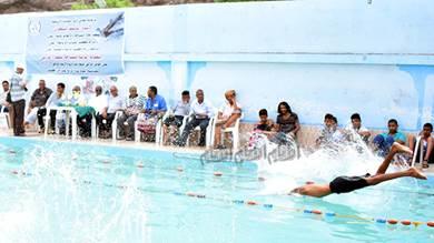 سباحو البريقة يحصدون المراكز الأولى في البطولة الثالثة للسباحة بعدن