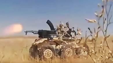 إيران تكشف عن روبوت مقاتل وانتحاري