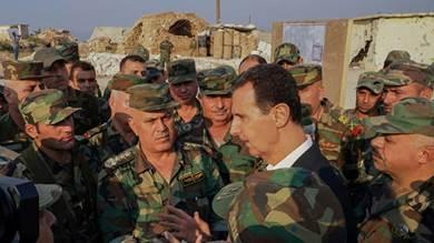 الأسد يؤكد دعمه الأكراد في التصدي للهجوم التركي على شمال شرق سوريا