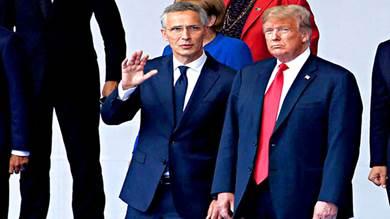 ترامب يلتقي الامين العام لحلف الاطلسي الاسبوع المقبل
