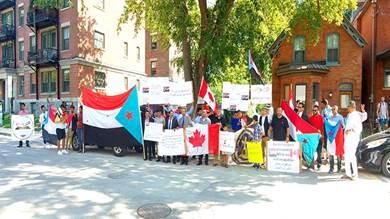 جاليتا الجنوب بأمريكا وكندا:نرفض الالتفاف على اتفاق الرياض