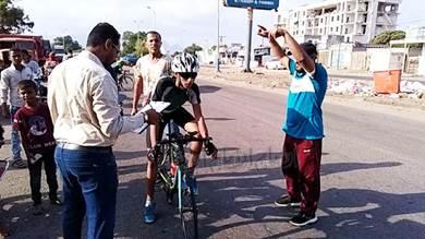 إتحاد الدراجات يرد على موضوع : (دراج أبين) يتعرض للظلم والإقصاء