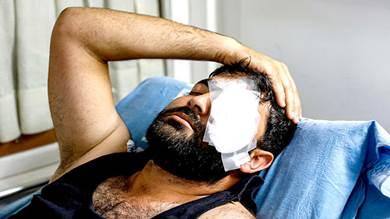 المصور الصحافي الفلسطيني معاذ عمارنة