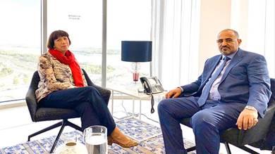 سفيرة هولندا: الانتقالي شريك أساسي في صناعة السلام