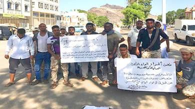 الحماية الرئاسية تحتجز رواتب جنود لعدم ذهابهم إلى شقرة