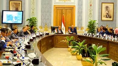 رئيس مجلس النواب يلتقي رئيس البرلمان المصري