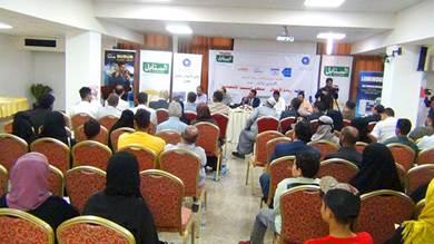 """نادي الأعمال اليمني يختتم فعالية """"مُنطلق التنمية الاقتصادية"""" بعدن"""
