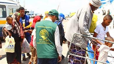 131 لاجئاً صوماليا يغادرون عدن ضمن برنامج الإعادة الطوعي