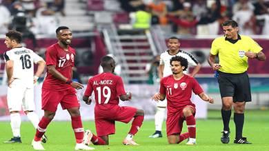 منتخب قطر يكتسح منتخبنا بالستة والعراق يهزم الإمارات