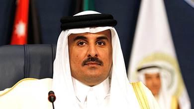 أمير قطر يتلقى دعوة من الملك سلمان للمشاركة في القمة الخليجية