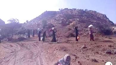 تهجير 2000 أسرة جراء المواجهات شمال وغرب الضالع