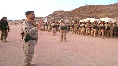 قائد قوات النخبة الشبوانية المقدم محمد سالم البوحر