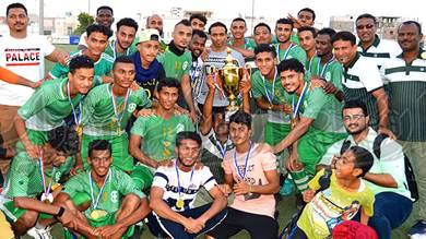 وحدة عدن يتوج ببطولة كأس الاستقلال في عدن