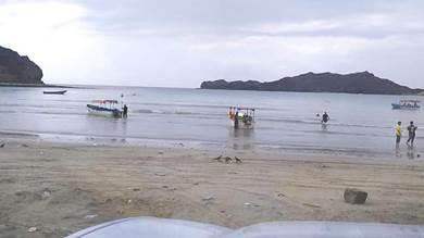 غرق شقيقتين ببحر البريقة ونجاة ثالثة