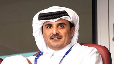 """أمير قطر سيتويج الفائز في نهائي كأس """"الخليج 24"""" بين السعودية والبحرين"""