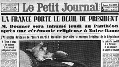 هكذا قتل شاعر روسي رئيس فرنسا في معرض أدبي