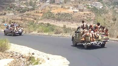 اشتباكات عنيفة بين جماعتين حوثيتين غرب الضالع