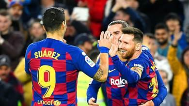بطولة إسبانيا: سواريز يقود برشلونة لانهاء عام 2019 بفوز على الافيس