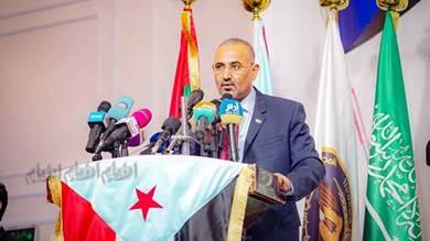 الزبيدي: الإخوان والحوثي جعلا الإرهاب أداة سياسية لاستهداف الجنوب