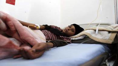 سرطان الدم يهدّد حياة أطفال اليمن