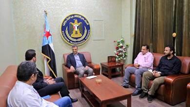 لملس يبحث مع مكتب المبعوث الأممي عراقيل الشرعية أمام اتفاق الرياض