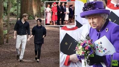 إليزابيث الثانية تدعو هاري وميجان لحضور فعالية ملكية