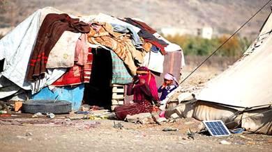 نزوح أكثر من 5 آلاف أسرة بسبب القتال في نهم والجوف