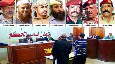 حكم بإعدام جواس وهيثم قاسم و5 من كبار قادة الجنوب العسكريين