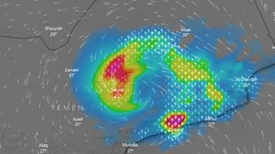عاصفة مدارية