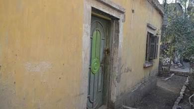 أطلال منزل أم كلثوم في مسقط رأسها بقرية طماي الزهايرة بمحافظة الدقهلية شمال مصر