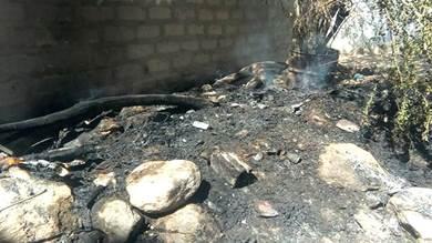 شبوة.. مجهولون يضرمون النار بمنزل عميد كلية التربية بيحان