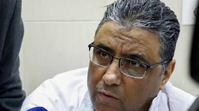 محمود حسين في سجنه في القاهرة في 11 فبراير 2020
