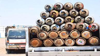 فساد في توزيع أسطوانات الغاز بالحوطة